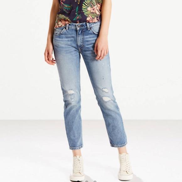 Levi's Denim - VTG Levis 505C Ripped Straight Jeans Size 31